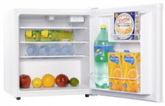 Iceking A+ Rated Table Top Fridge With Lock TL48W (White)